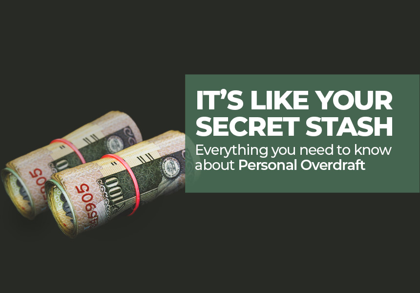 Personal Overdraft - It's like Your Secret Stash of Money