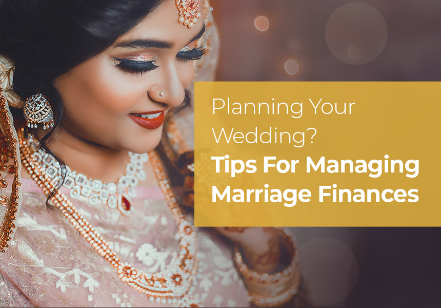 Tips For Managing Marriage Finances